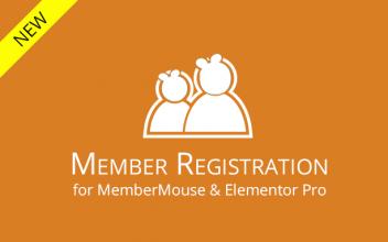 Member Registration for MemberMouse & Elementor Pro