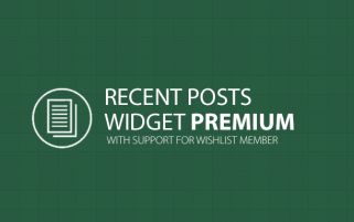 Recent Posts Widget Premium