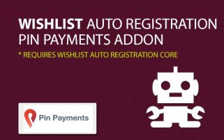 Wishlist Auto Registration Pin Payments