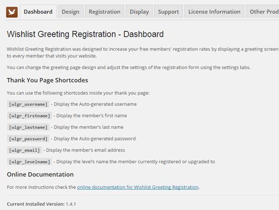 wishlist-greeting-registration-shortcodes