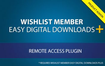 Wishlist Member Easy Digital Downloads Plus - Remote Access AddOn