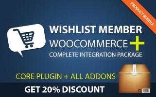 Wishlist Member WooCommerce Plus - Bundle (Plugin + Add-Ons)