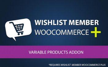 Wishlist Member WooCommerce Plus - Variable Products (AddOn)