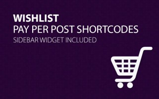 Wishlist Pay Per Post Shortcodes