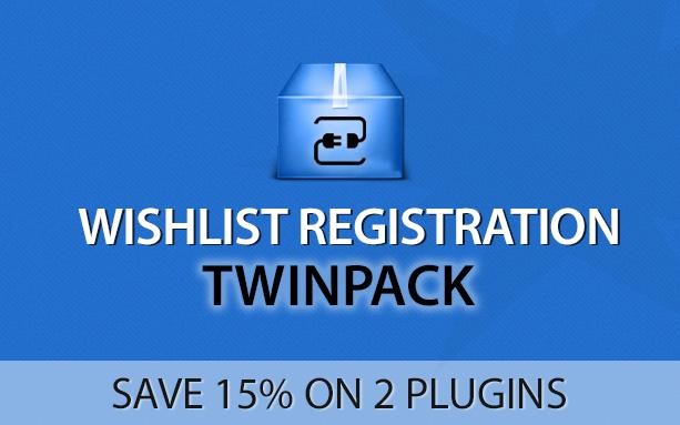 Wishlist Registration Twinpack