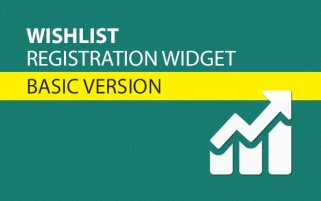 Wishlist Registration Widget Basic Version