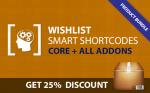 Wishlist Smart Shortcodes Bunlde