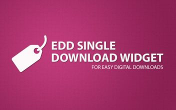 Easy Digital Download Single Download Widget