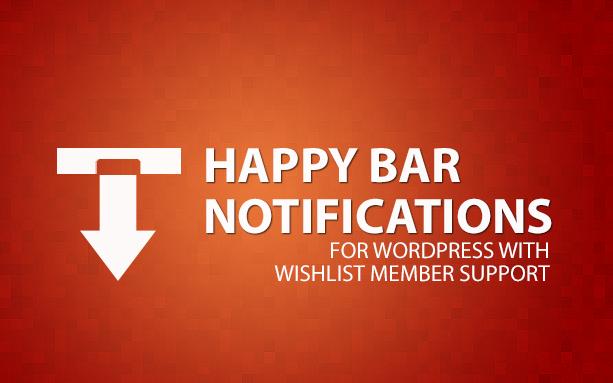 Happy Bar Notifications