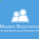 Member Registration for MemberPress & Elementor Pro
