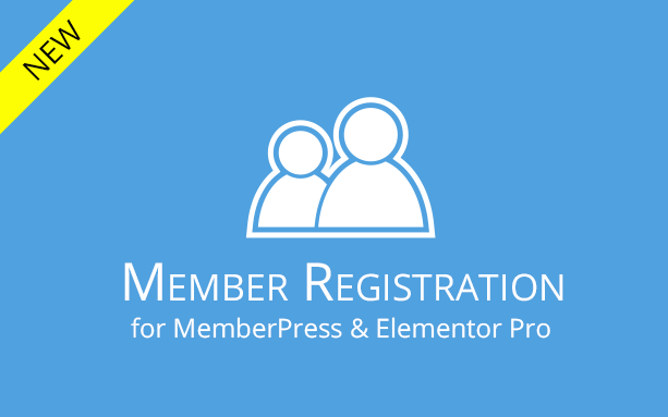 Member Registration for MemberPress & Elementor Pro