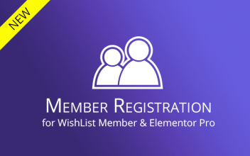 Member Registration for WishList Member & Elementor