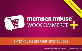 Member Mouse WooCommerce Plus - External Membership Sites AddOn