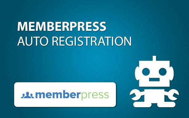 MemberPress Auto Registration