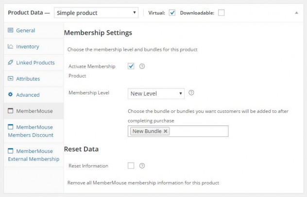 Ability to Sell MemberMouse Membership Levels & Bundles