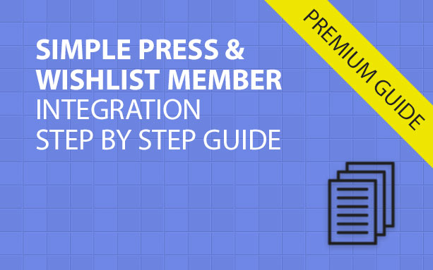 Simple Press & Wishlist Member Integration Step by Step Guide