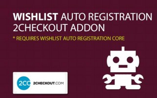 Wishlist Auto Registration 2CheckOut AddOn