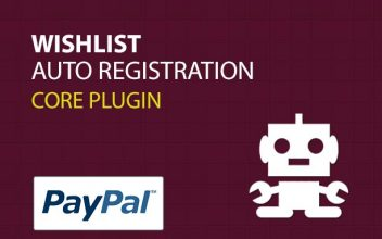 Wishlist Auto Registration Core