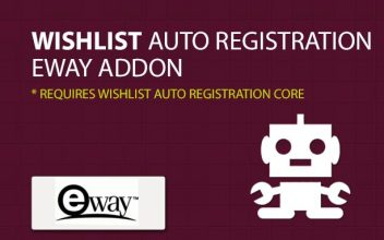 Wishlist Auto Registration eWay AddOn