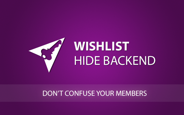 Wishlist Hide Backend