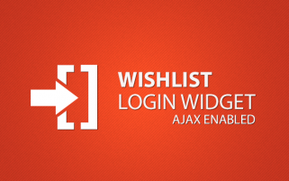 Wishlist Login Widget
