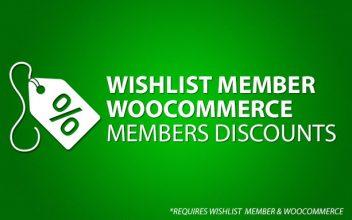 Wishlist Member WooCommerce Members Discounts