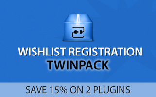 Wishlist Registration Twinpack
