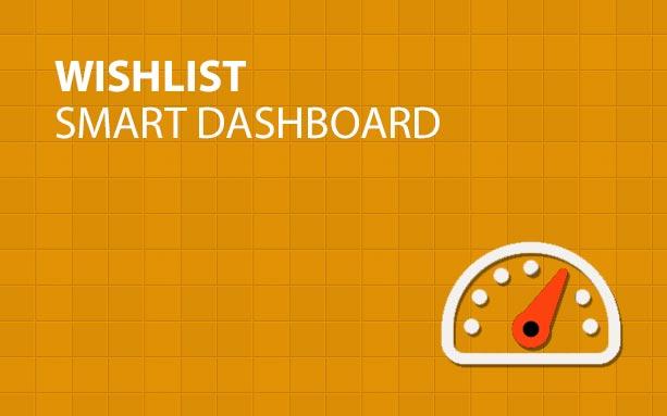 Wishlist Smart Dashboard
