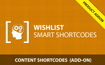 Wishlist Smart Shortcodes - Content Add-On
