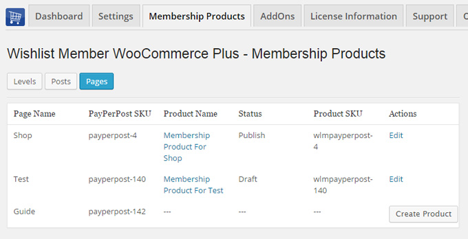 Create New Products in One Click