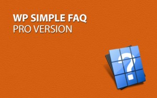 WP Simple FAQ - Pro